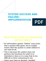5. Success and Failure Implementation