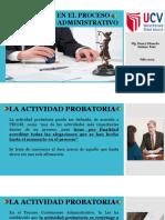 La Prueba en El Proceso Contencioso Administrativo