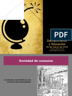 decrecimiento y educacion