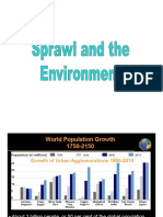 sprawl and the environment ppt