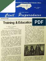 North Carolina Civil Defense - Jan 1974