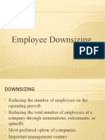 Employee Downsizing