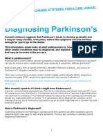 diagnosingparkinsons