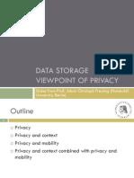 Privacy Data Storage Humboldt