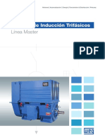 WEG Motores de Induccion Trifasicos Linea Master 50020704 Catalogo Espanol