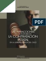 Las Infracciones de Los Postores en La Contratacion Estatal...Jurisprudencia OSCE, 2014, GJ 475p.
