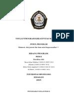 Usulan PKM 5 Bidang 2015