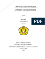 Analisa Percepatan Getaran Tanah Maksimum Serta Hubungan Percepatan Getaran Tanah Dengan Intensitas Di Pulau Jawa Menggunakan Metode Gutenberg Richter Dan Metode Muphy o'Brein-skripsi