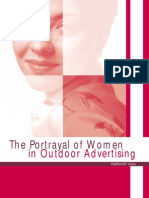 Portrayal of Women in Outdoor Advertising.
