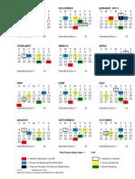 Fiscal Calendar