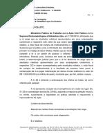 Ação Civil Pubica Contra Empregador - Atestado Sem CID - Sentença