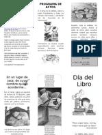 Programa Día del Libro