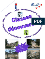 Brochure classes de découvertes FOL69 2010-2011