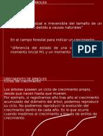Biometria Forestal - Practico 04 - Crecimiento Del Arbol