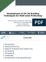 Jetavat D 2D-3D Braiding Techniques