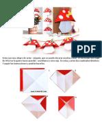 Hongo en Origami