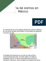 Historia de Sismos en Mexico