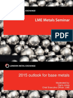 Nic Brown 2015 Outlook for Base Metals Aluminium