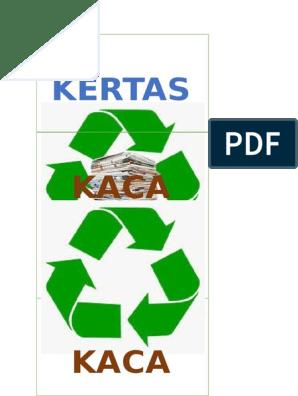 Stiker Utk Tong Kitar Semula