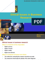 Business Research Methods Chapter 18