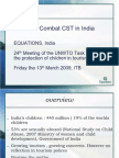 Situation in India on Child Abuse in Tourism - UNWTO Task Force on the Protection of Children