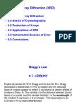 Basics of XRD