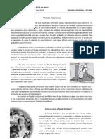 BioGeo10 Ficha de Trabalho 8 - Pegada Ecologica