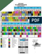 Jadwal Pelajaran MI 2013-2014