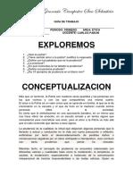 Guía de Trabajo de Ética Octavo 7 Al 11 de Marzo