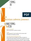 Christian Cabrera Briefing