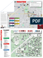 2015 2016 Campus and Apartment Bus Route Map