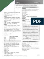 Answer Unit 05 Workbook TopNotch 2e