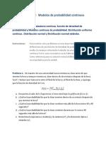 U4 A2 - Modelos de Probabilidad Continuos