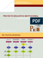 Proyecto Educativo Institucional Pei