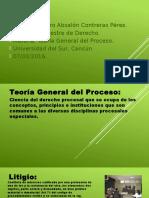 Teoría General Del Proceso Conceptos.