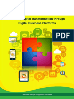 Enabling Digital Transformation Through Digital Business Platforms