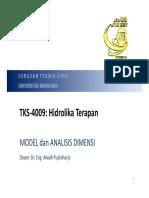 07 Model Dan Analisis Dimensi