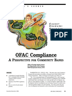 OFAC Compliance - A Perspective for Community Banks