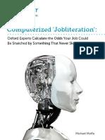 Computerised Jobliteration