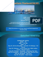 Fixed Departure Thailand