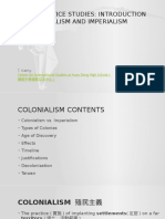 Colonialism for ESL