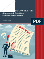 Employment Contracts-Unexpected Questions and Variable Answers