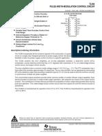 TL594 Datasheet
