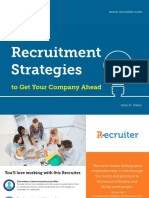 Four Recruitment Strategies to Get Your Company Ahead