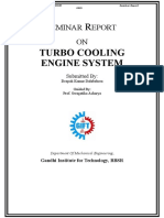 report on turbo cooling system