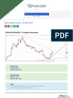 Forex Daily Forecast - 07 Mar 2016 BlueMax Capital