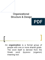 Organisational Design Ms10