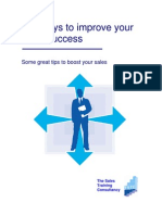 100 Ways to Improve Your Sales Success