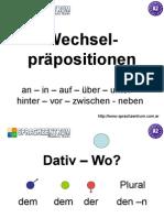 Wechselpraepositionen PPT Presentation