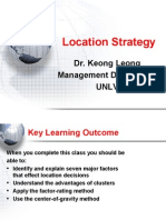 Chapter 08 Location Strategy 7th Ed 2010